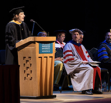 Professor Bethany Cobb Kung at the 2013 Induction Ceremony